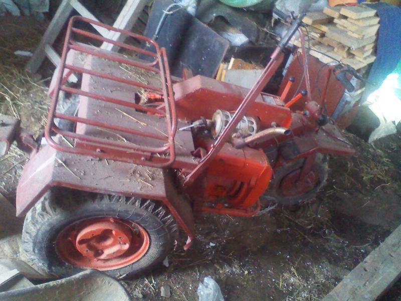 Мини-трактор КМЗ-0120