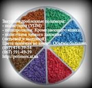 Купим дробленный полипропилен (ППР),  полистирол (ПС-УПМ). Лом крышек т