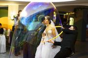 Шоу-Гигантских Мыльных Пузырей на Свадьбу,  День рождения,  Юбилей...