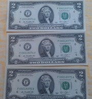 2-х долларовая купюра