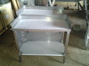 Стол разделочный, стол производственный из нержавеющей стали
