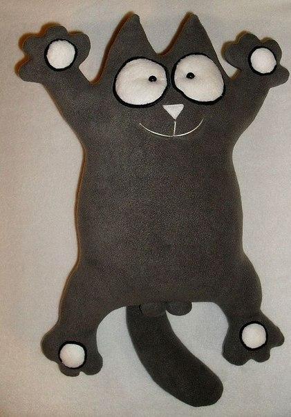 Кот саймон подушка своими руками