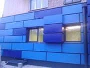 Фасадные витражи из алюминиевого профиля