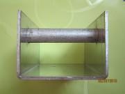 Салазка нерж сталь с алюминиевой втулкой
