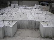 Блоки фундаментные,  плиты перекрытий,  элементы колодцев. Доставка.