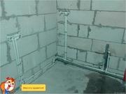 замена водопроводных и канализационных труб. 8(025)9001758