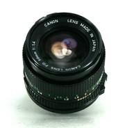 Объектив Canon FD 50mm f/1.4