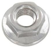 Гайка DIN 6923,  шестигранная с фланцем;  сталь А2