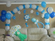 Любые фигуры из воздушных шаров,  букеты,  цветы,  арки,  сердца
