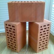 Блоки керамические поризованные пустотелые