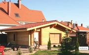 Деревянные дома,  деревянные бани,  деревянные беседки