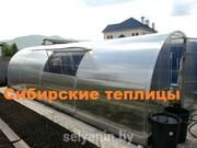Сверхпрочная «Сибирская теплица» 6x3x2м
