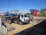 Аренда Автокрана (50 тонн) и автокрана Галичанин КС-6476 (50 тонн)