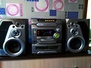 Музыкальный центр Panasonic SC-AK47 мощный громкий звук 260вт