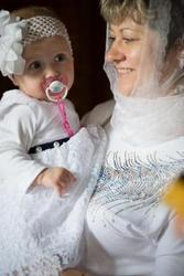 Профессиональная фотосъемка крещения