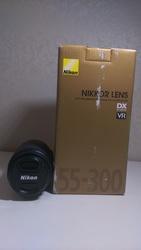 Объектив AF-S DX NIKKOR 55-300mm f/4.5-5.6G ED VR