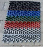 Модульные коврики из ПВХ Грязезащитные модульные ковры решетки
