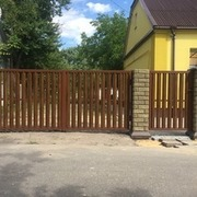 Заборы,  ворота,  калитки - изготовим,  доставим,  установим.