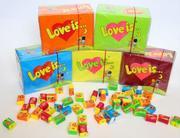 Интернет-магазин жвачек Love is с доставкой по всей Беларуси
