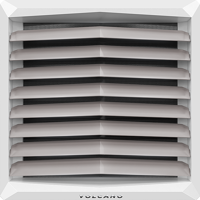 Тепловентилятор воздухонагреватель калорифер  (Вулкан) Volcano VR1 AC. все города