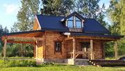 Деревянный коттедж возле Минска