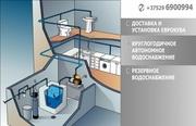 Доставка и установка еврокуба. Круглогодичная вода.