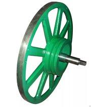 Новые Пильные шкивы Проточка и балансировка колёс для пилорам