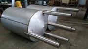 Емкости от 1 м3 до 100 м3 из нержавеющей стали