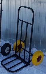 Тележка хозяйственная ручная ВВ-2П (Непробиваемые колёса)