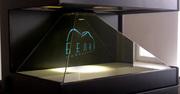 Голографическая 3D пирамида