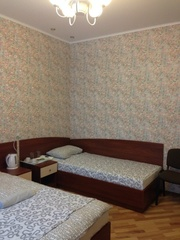 Трехместный номер в хостеле на Немиге