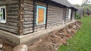 Ремонт и усиление деревянного дома,  Поднять дом,  замена венцов