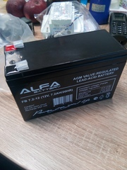 Аккумулятор для источников питания видеонаблюдения