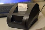 Чековый принтер (термопринтер) 58мм USB