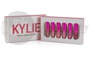 Набор из 6 матовых помад Kylie Red