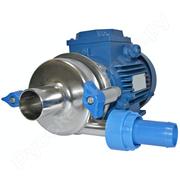 Насос молочный НМУ-10 с электродвигателем (метал. тарелка,  метал. корп