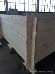 Услуги по строительству деревянных срубов домов,  бань,  беседок.