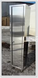 Шкаф из нержавеющей стали (для одежды,  для инвентаря)