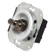Выключатель 1кл. поворотный 10А~250V,  Salvador,  Белый
