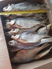 Рыба сушеная,  вяленая