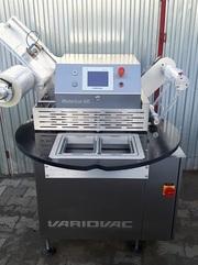 Полуавтоматическая упаковочная машина «Variovac Rotarius» Германия.