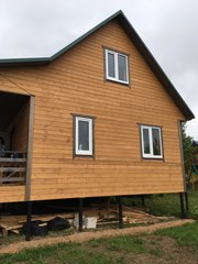 Строим деревянные бани и дома,  каркасные в Ивенце