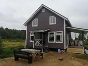 Каркасный Дом 7х10 под ключ по проекту Канада