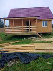 Каркасный Дом 6х8 по проекту Суоми