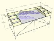 Инспекционный стол для сортировки продуктов питания